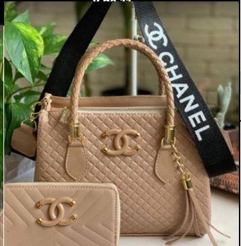 Bolsa Chanel N° 1 Bege