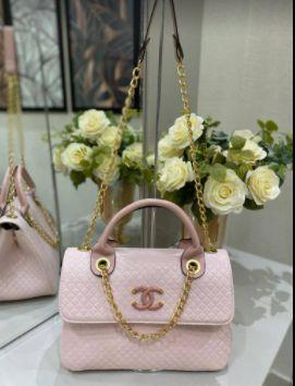 Bolsa Chanel N° 5 Rosa