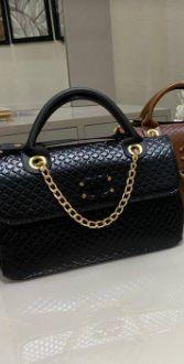 Bolsa Chanel N° 5 Preta