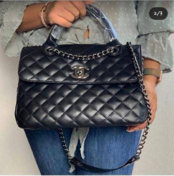 Bolsa Chanel N° 6 Preta