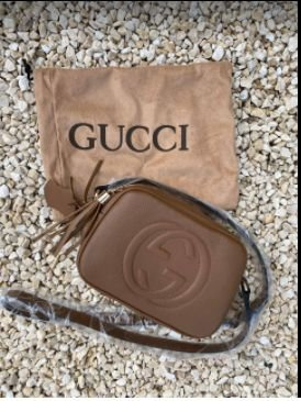 Bolsa Gucci N°5 Vermelha Marrom