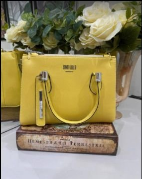 Bolsa Santa Lolla N°8 Amarela