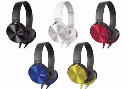 Fone De Ouvido Extra Bass Sony Mdr Xb450 - Amarelo