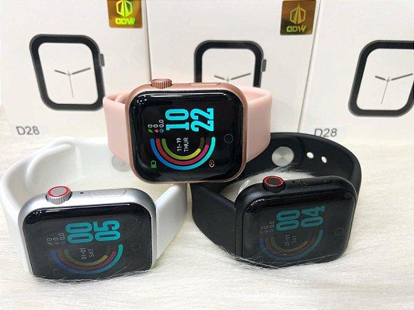 Smartwatch D28- Rosa