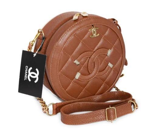 Bolsa Chanel Bolinha - Caramelo
