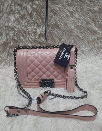 Bolsa Chanel Boy New Medium - Rose