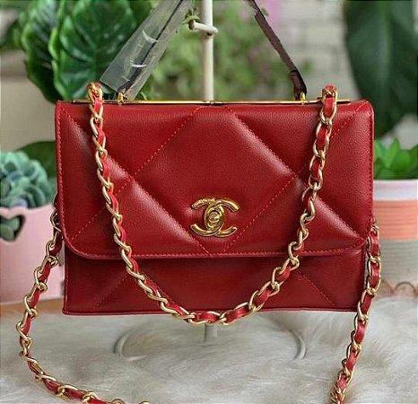 Bolsa Chanel N°19 - Vermelha
