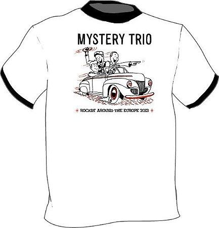 Camiseta Rockin' Around Europe Tour 2013