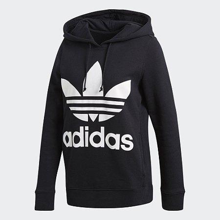 Moletom Adidas Canguru Trefoil Hood