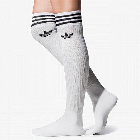 Meia Adidas Solid Knee Sock
