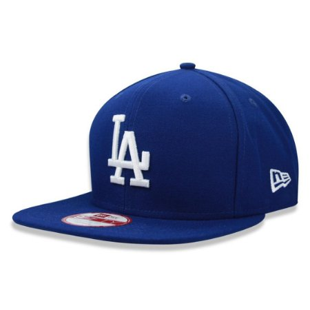 Bone New Era Los Angeles Dodgers Strapback Azul - Sportlet Sneakers aa97fba3817