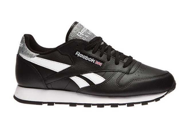 Reebok Classic Leather Pop Preto