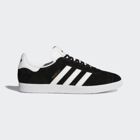 Tenis Adidas Gazelle Preto com Branco