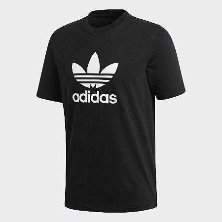 Camiseta Adidas Trefoil Preta