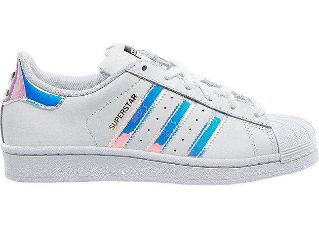0c39c8163 Tenis Adidas Superstar Holografico - Sportlet Sneakers