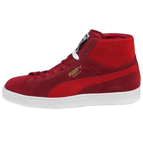 961ccf1488 Tenis Puma Suede Mid Vinho - Sportlet Sneakers