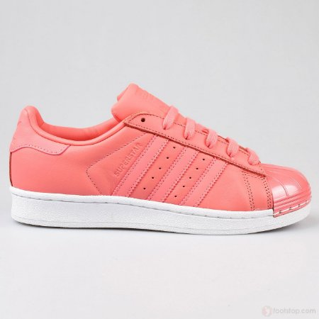 Tenis Adidas Superstar Metal Toe Rosa