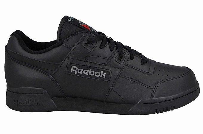 Tenis Reebok Workout Lo Preto