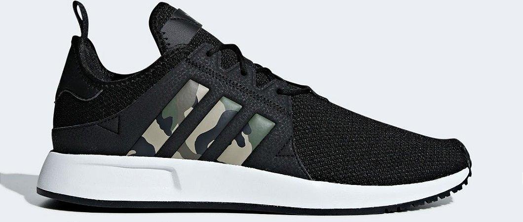 cd790e464e Tenis Adidas X PLR Camuflado - Sportlet Sneakers