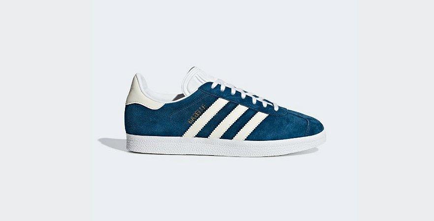Tenis Adidas Gazelle Feminino Azul