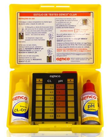 Estojo de Análises Genco Cl pH
