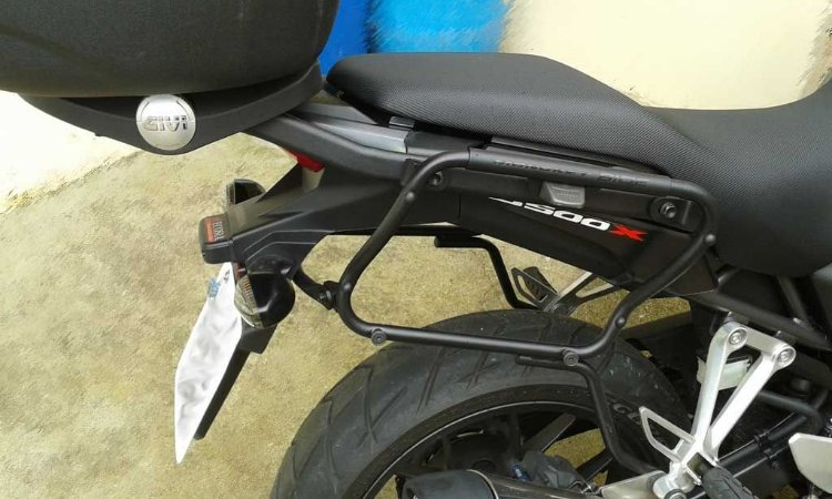 Suporte Lateral de Baús GIVI - V35 - para Honda CB 500X