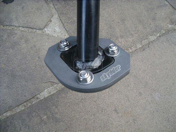 Ampliação da base do pezinho em Aluminio - BigFoot -  BMW F800 GS