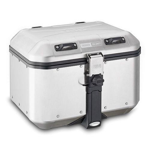 Baú Top-Case Givi 46L - Linha Trekker Dolomiti - Aluminio