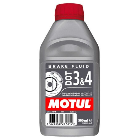 Motul Brake Fluid - Fluido De Freio - Dot3 E Dot4