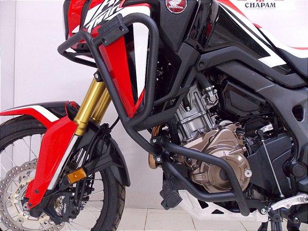 Kit Protetor de Motor e de Carenagens para Honda Africa Twin CRF1000 Preto