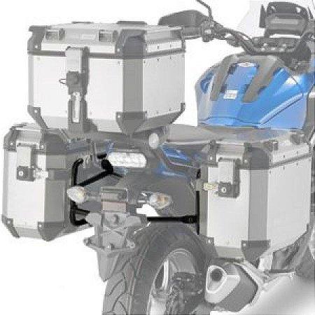Suporte Lateral de Baús GIVI OUTBACK para Honda NC 750X - nova