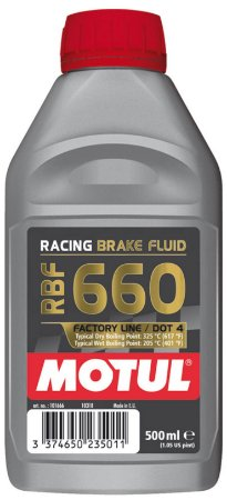 Motul Brake Fluid - Fluido De Freio - Dot4 RFB660  Factory