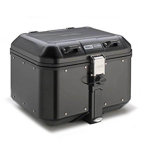 Baú Top-Case Givi 46L - Linha Trekker Dolomiti - Aluminio Preto