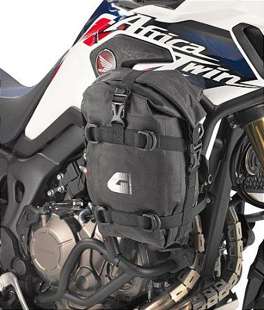 Bolsa impermeável Givi 5L - par - para fixação no protetor de motor