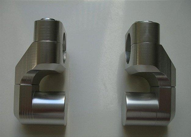 Riser para guidão - 50mm inclinável - Tiger 800 & Explorer 1200