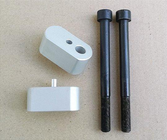 Riser para guidão - 20mm Biker - Tiger 800 XC / XCx e Explorer 1200 - 1200XC