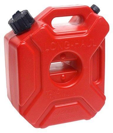 Tanque Reservatório Galão de combustível Gasolina 3L com suporte