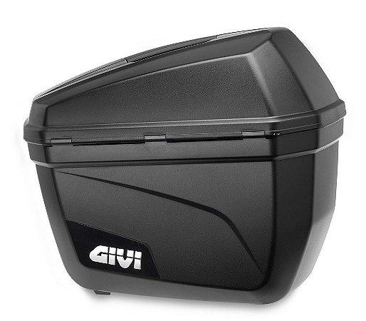 Baú Givi 22L lateral - modelo E22  ( jogo / par ) Lançamento