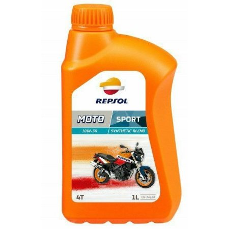 REPSOL Moto Sport - Óleo Lubrificante 10w30 - semissintético - 1L