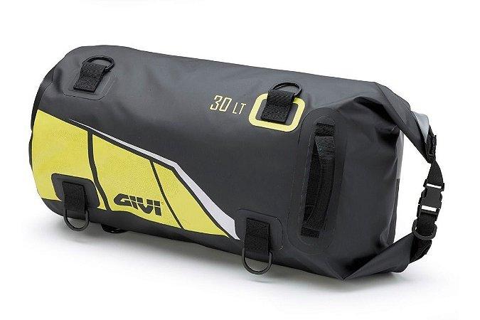 Bolsa impermeável Givi 30L - Preto e Amarelo