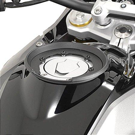 Flange de encaixe e fixação de Bolsas Givi TankLock - Modelo especifico para BMW G310 GS