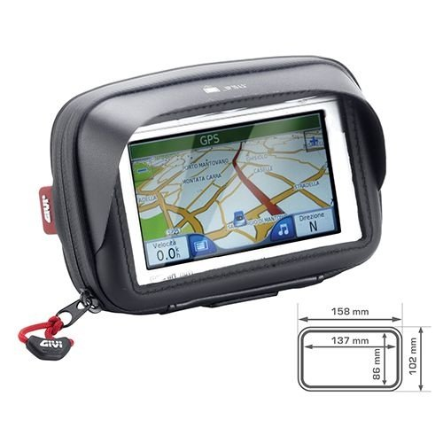 """Bolsa Givi S954B de 5"""" para GPS e Smartphone no guidão"""