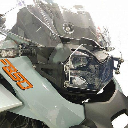 Protetor de Farol para BMW F850 GS Adventure em Policarbonato
