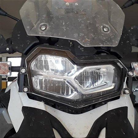 Protetor de Farol para BMW F750 e 850 GS Premium-Sport em Policarbonato