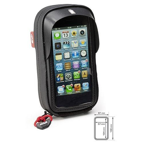Bolsa Givi S955B para Iphone 4 e Iphone 5 no guidão