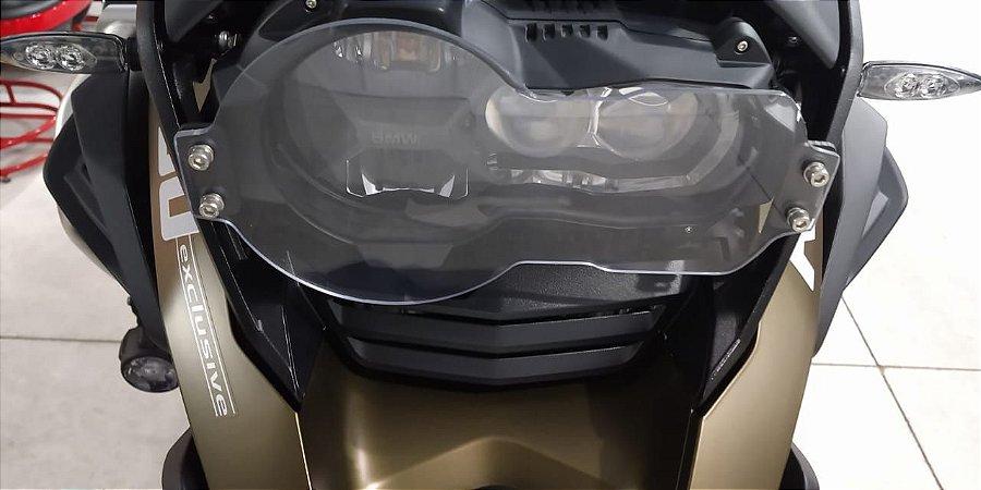 Protetor de Farol para BMW R1200 e 1250 GS em Policarbonato