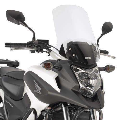 Bolha Alta - Pára-Brisa GIVI para Honda NC700 - 750X até 2015