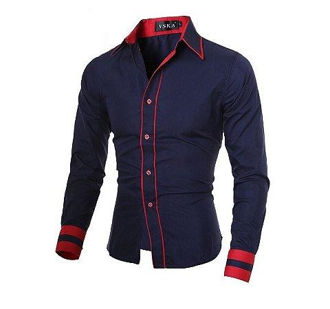 Camisa Masculina Social Slim VSKA