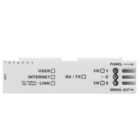 Módulo de Comunicação Ethernet Para Central de Alarme IP150 Paradox