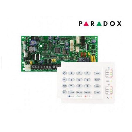 Placa Central de Alarme 4 Zonas Expansíveis até 32 Zonas Spectra SP4000 Com Teclado K10H Paradox